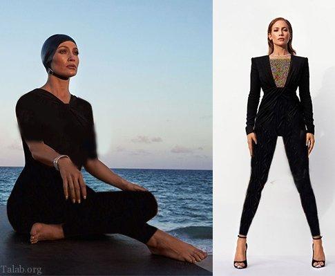 جدیدترین عکس های جنیفر لوپز بر روی مجله مد و زیبایی 2020
