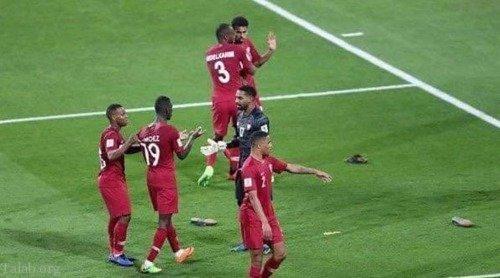 اقدام زشت هواداران امارات بعد از شکست در برابر قطر (+عکس)