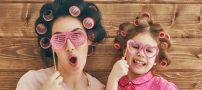 ست کردن لباس خود با فرزندتان در مهمانی | ست لباس با کودک