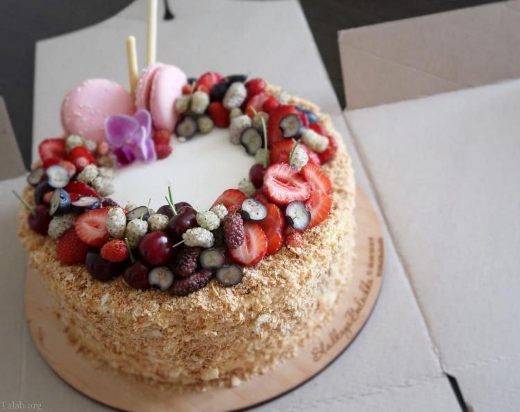 مدل های کیک تولد | انواع مدل کیک تولد دخترانه و پسرانه