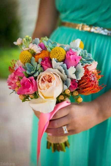مدل های زیبای سبد گل 2021   مدل های دسته گل زیبای عروسی و نامزدی 2021