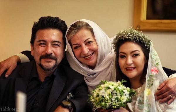 ازدواج امیرحسین صدیق و عکس های همسرش باران خوش اندام (عکس)