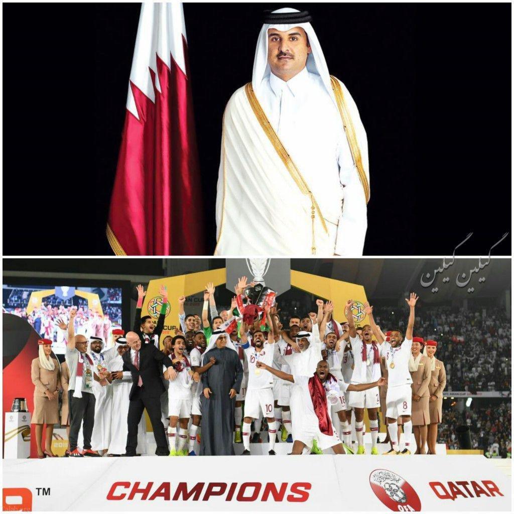 جوايز امير قطر به بازيكنان قطری + حواشی رقابتهای جام ملتهای آسیا