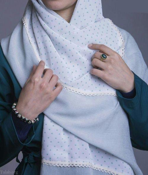 مدل شال و روسری مد سال 1398 | جدیدترین سال و روسری نوروز 98