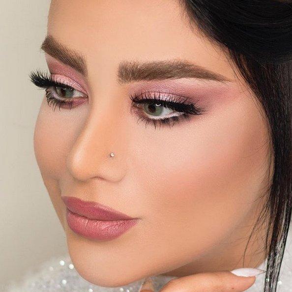 زیباترین مدل های آرایش عروس 2019 | مدل میکاپ عروس 1398