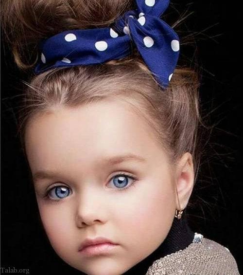 عکس های زیباترین دختر دنیا با چشمانی جادویی