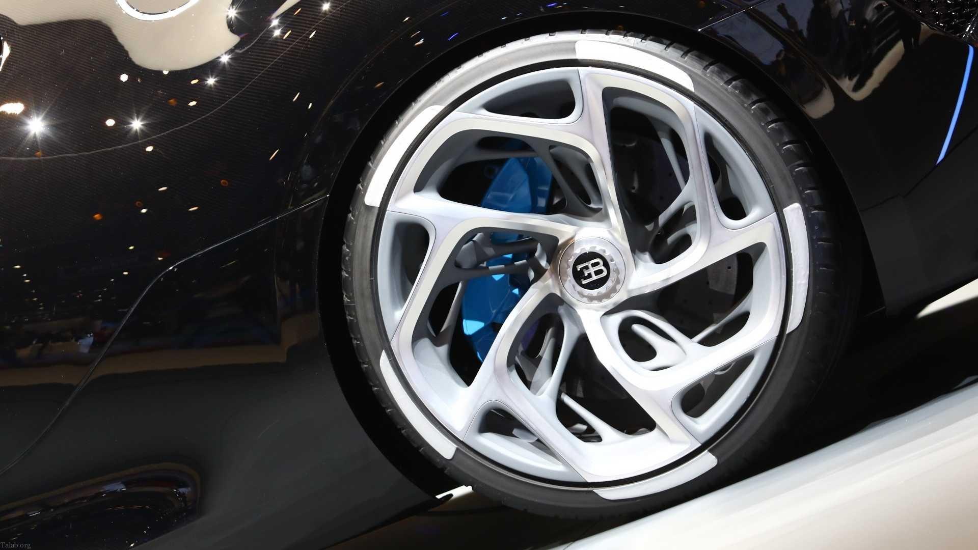 بوگاتی La Voiture Noire گران قیمت ترین خودروی جهان (عکس)