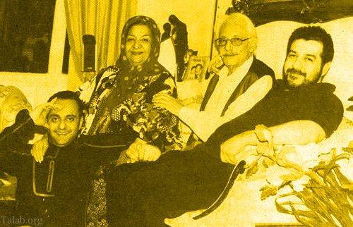 همه چیز درمورد همسر و خانواده جمشید مشایخی (عکس)