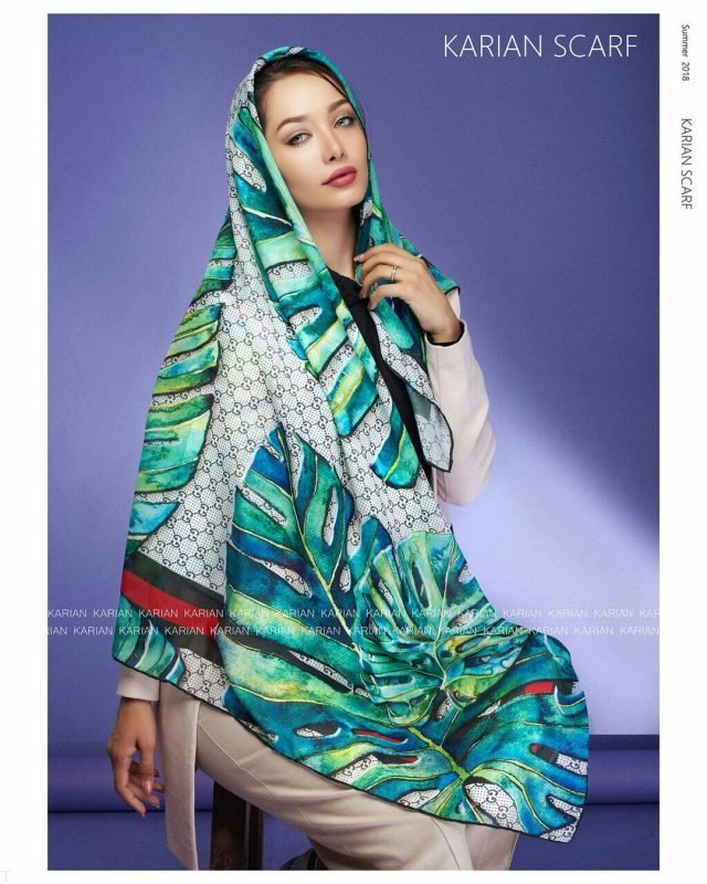 بهترین مدل شال و روسری بهاری 1399 | زیباترین مدل شال و روسری 99