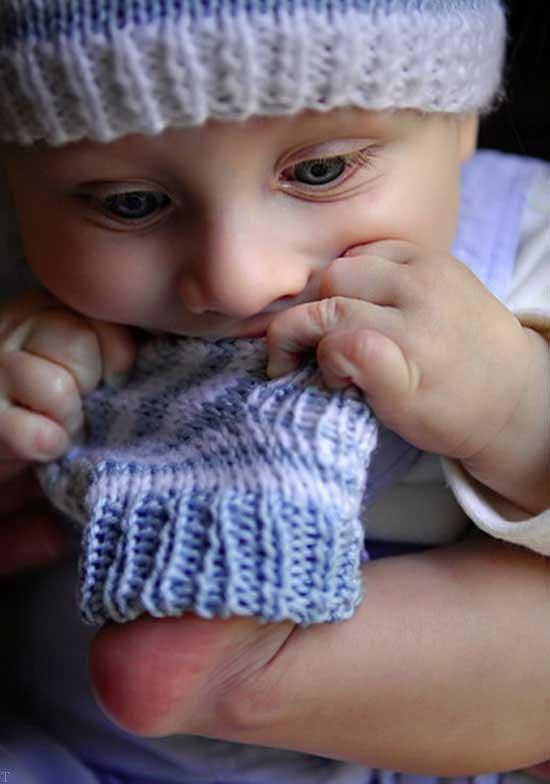عکس های زیبا از نوزاد پسر (5)
