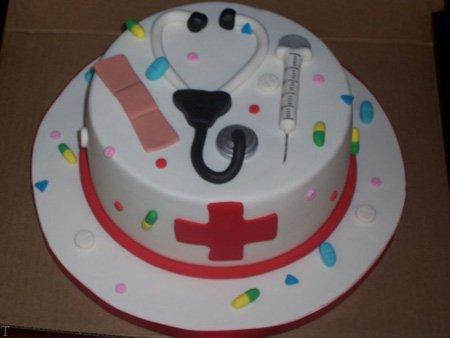 کیک روز پرستار + هدیه روز جهانی پرستار