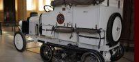 اولین خودروی جهان که از کویر صحرا عبور کرد (عکس)