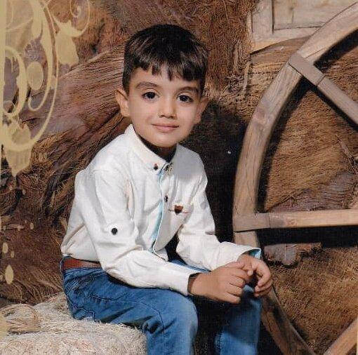 پسر بچه 7 ساله اراکی مفقود شد (عکس)