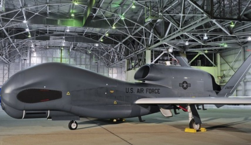 لاشه پهپاد جاسوسی منهدم شده آمریکا (عکس)