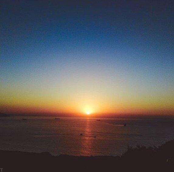 اس ام اس غروب آفتاب غمگین + عکس و متن غروب عاشقانه