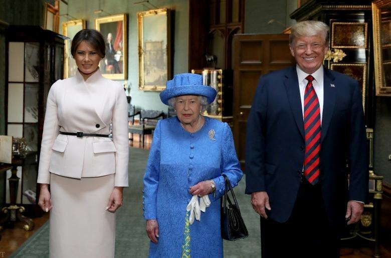 امکانات محافظتی جالب ترامپ در سفر به بریتانیا (+عکس)