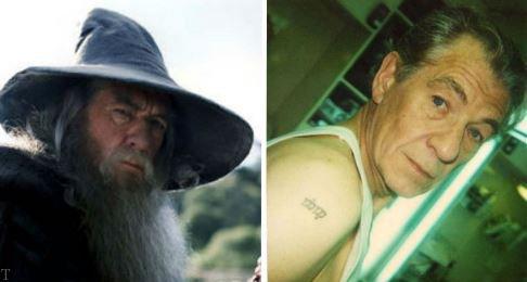 تتو عجیب بازیگران مشهور هالیوود روی بدنشان «عکس»