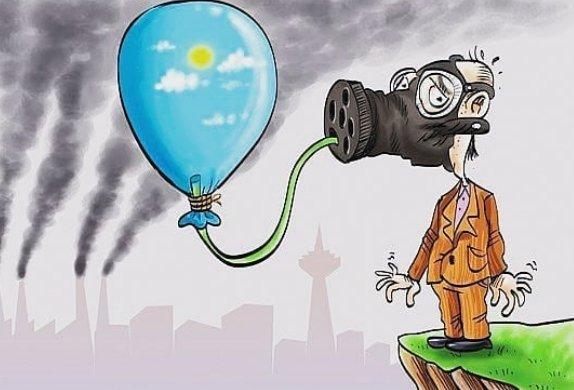اس ام اس طنز و خنده دار آلودگی هوا (طنز آلودگی هوا)