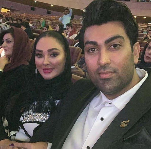 استایل الهام حمیدی در جشن حافظ (عکس)