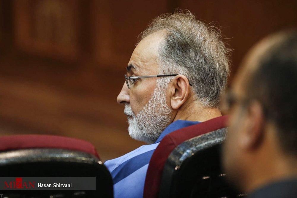 دادگاه علنی نجفی به اتهام قتل همسرش (فیلم + عکس)