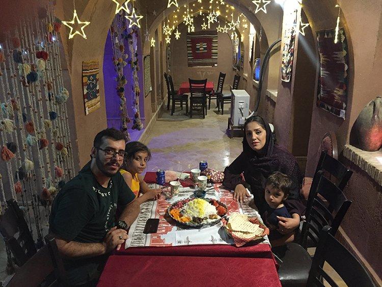 مکان های دیدنی شهر زیبای گلپایگان با خانواده گردشگر 4 گنجی