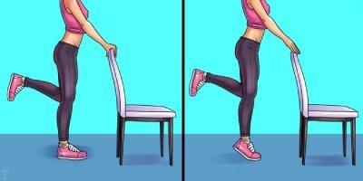 تمرینات مفید برای از بین بردن درد پا ، زانو و لگن