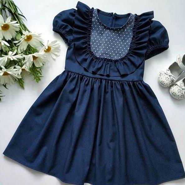 مدل لباس مشکی دخترانه و پسرانه ویژه کودکان زیر 7 سال