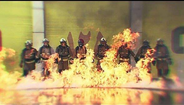 عکس نوشته تبریک روز آتشنشانی در 7 مهر