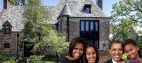 تصاویری از زندگی و خانواده اوباما رئیس جمهور سابق آمریکا