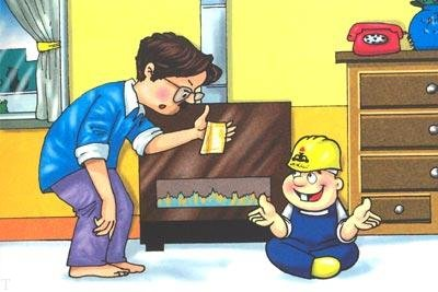نکات ایمنی برای نصب وسایل گرمایشی (عکس)