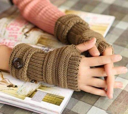 جدیدترین مدل دستکش بافتنی مخصوص زمستان (99)