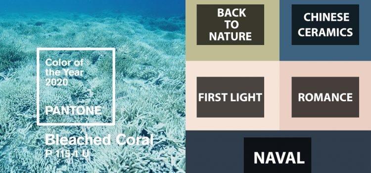 رنگ سال 2020 سفید مرجانیه (عکس)