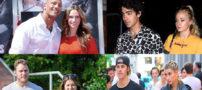 ازدواج سلبریتی های مشهور جهان در سال 2019 (از پیر تا جوان)
