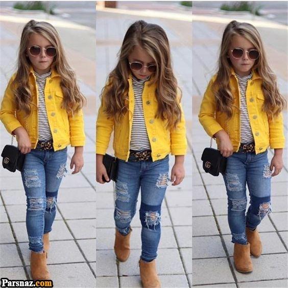 50 مدل لباس کودکانه زمستانی شیک | راهنمای انتخاب و ست کردن
