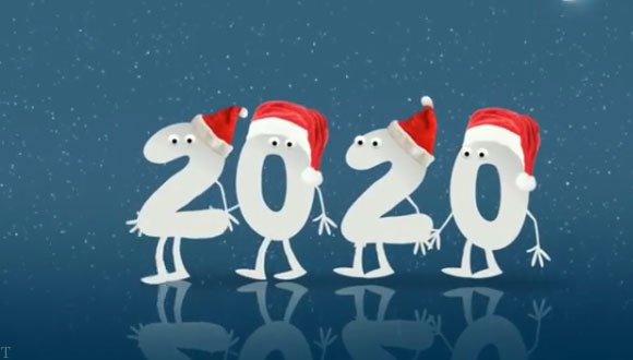 تبریک کریسمس و سال نو میلادی 2020 (فیلم)