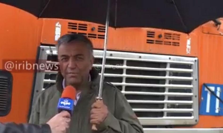 محبت و همدلی لهستانی ها با راننده کامیون ایرانی (فیلم)