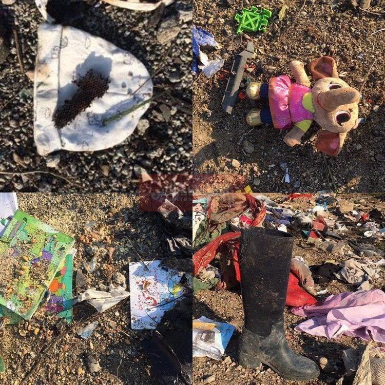 اخبار و مطالب مرتبط با سقوط هواپیمای اوکراینی (عکس)