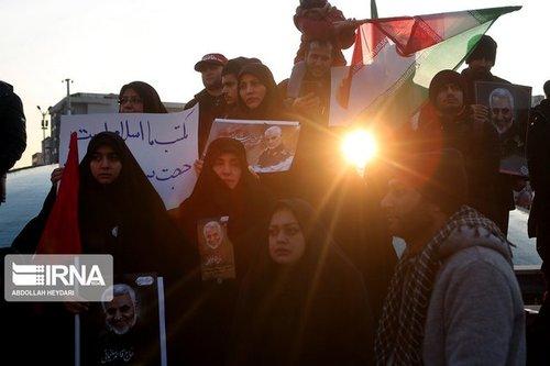 تصاویر مراسم تشییع سردار سلیمانی در تهران