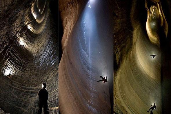 کشف عمیق ترین غار شناخته شده جهان در گرجستان + تصاویر باور نکردنی