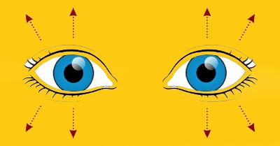 10 تمرین چشم برای تقویت و قدرت بینایی در 10 دقیقه