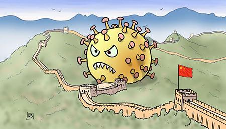 اس ام اس طنز ویروس کرونا + تصاویر کاریکاتور ویروس کرونا