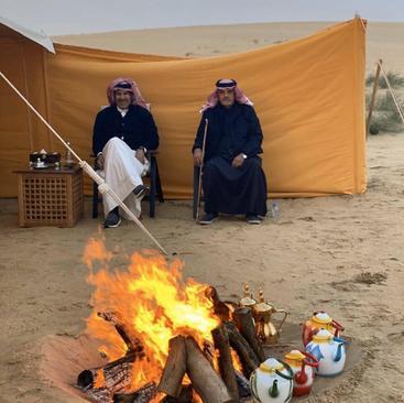 زندگی امیر سابق قطر چگونه است؟ (+عکس)