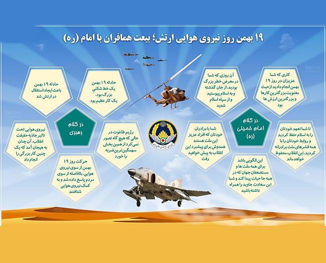 اس ام اس تبریک روز نیروی هوایی   19 بهمن روز هوانوردان ایران