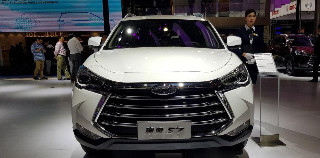 خودرو جدید جک s7 در ایران (عکس)