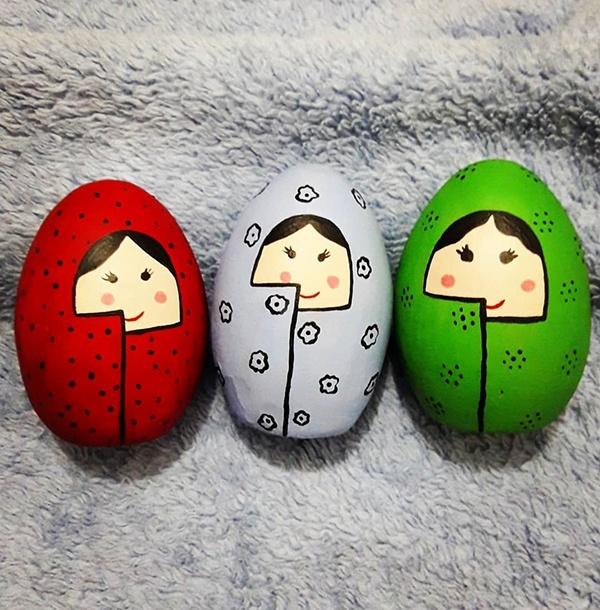 بهترین مدل تزیین تخم مرغ سفره هفت سین 1399