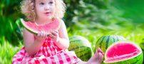 فواید هندوانه برای کودک + ارزش غذایی هندوانه