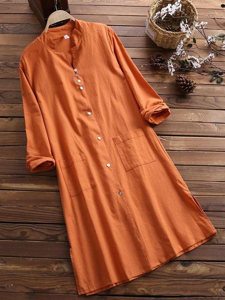 مدل پیراهن بلند نخی راحت زنانه 2021