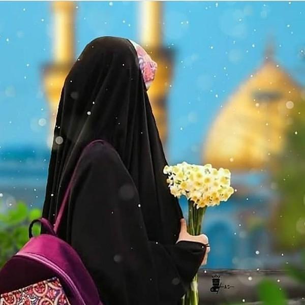 عکس پروفایل دختر چادری + عکس نوشته دختر با حجاب
