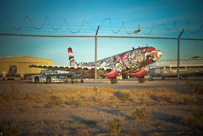 عکس های دیدنی از هواپیماهای از رده خارج شده