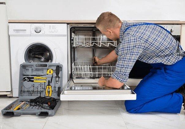 تعمیر ماشین ظرفشویی در ویآیپی سرویس